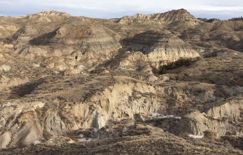 Badlands of Montana