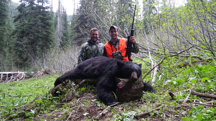 Jake Horton bear harvest