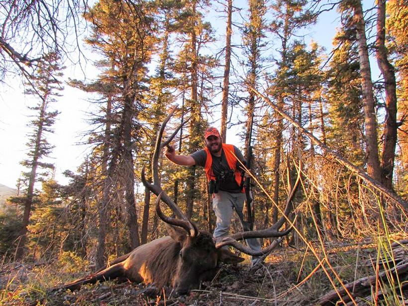 Ben with his OTC bull elk