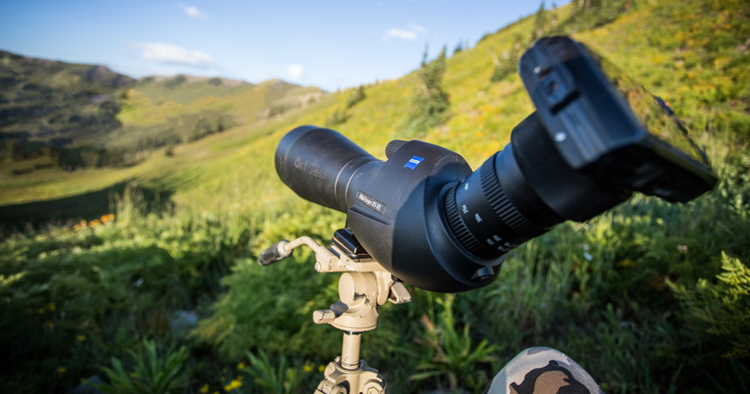 Best digiscoping setups for hunting