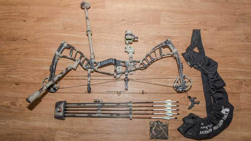 Bow setup for backcountry bowhunting