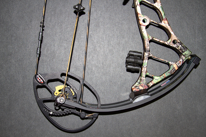 Bowtech Prodigy bottom cam