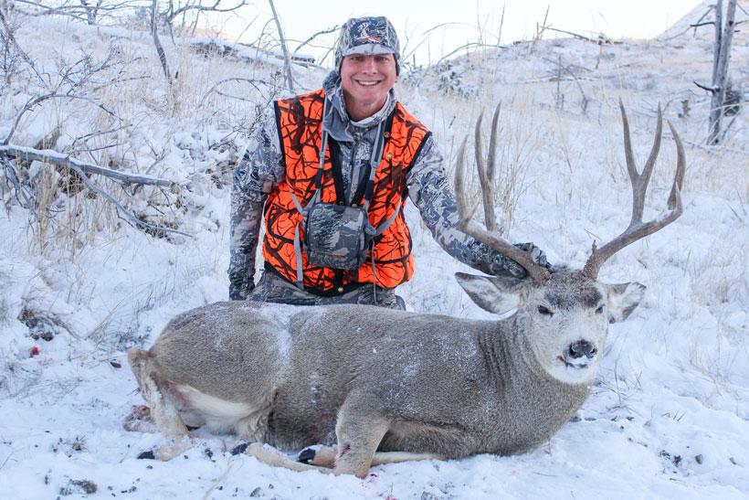 Brad Tribby's mule deer buck