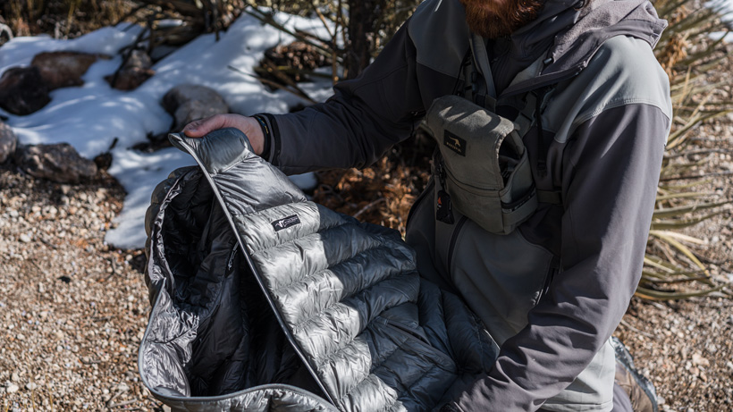 Brady Miller Stone Glacier Grumman Goose Down Jacket