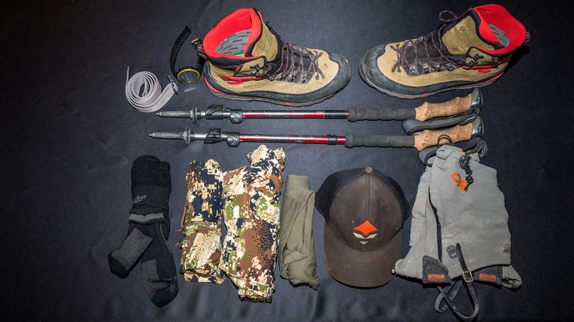 Brady Miller backcountry hunting clothing worn category 2017