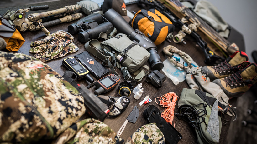 Brady Miller backcountry hunting gear list 2017