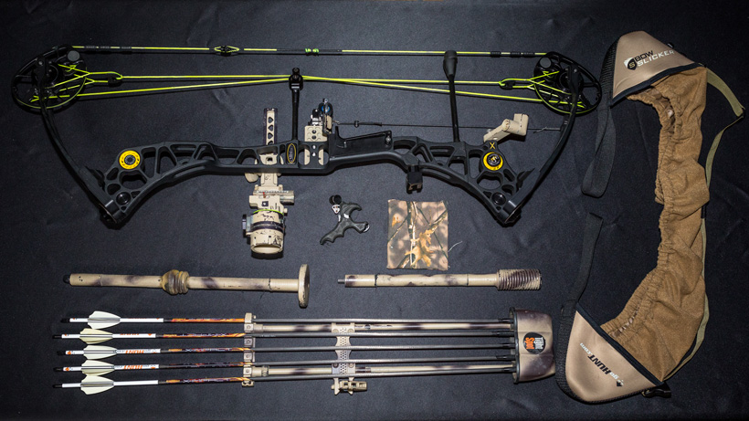 Brady Miller backcountry hunting weapon category 2017
