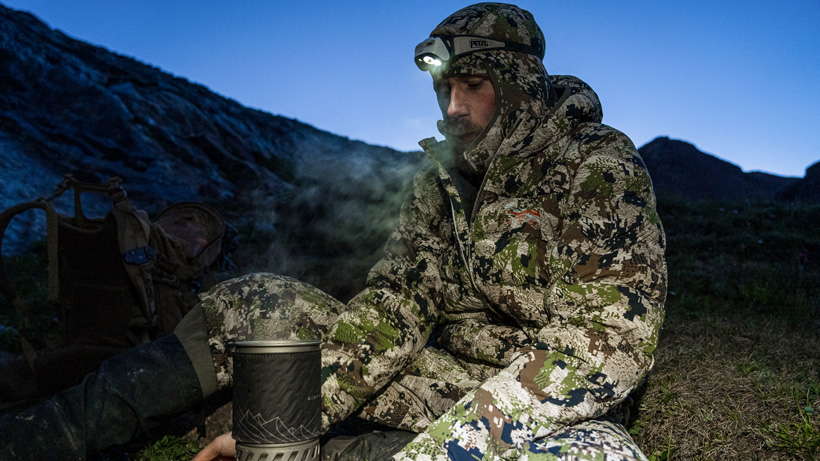Brady Miller favorite Sitka clothes for hunting