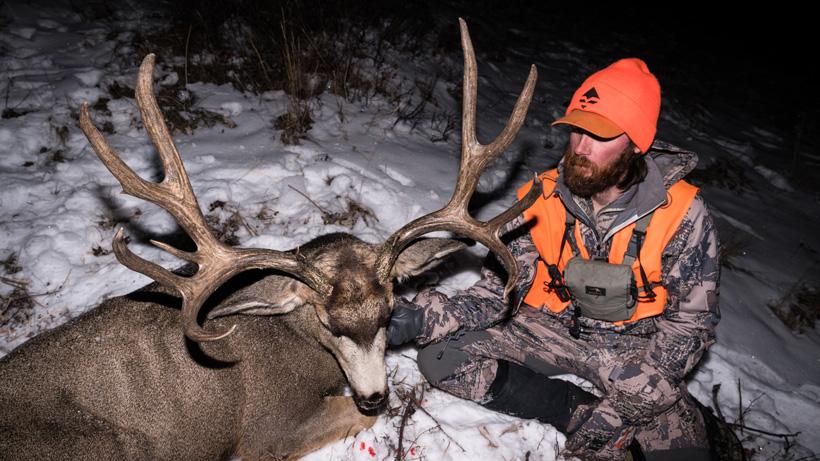 Brady Miller late season mule deer