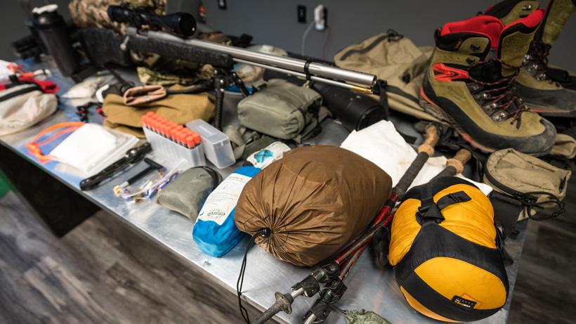 Brady Miller muzzleloader mule deer gear list