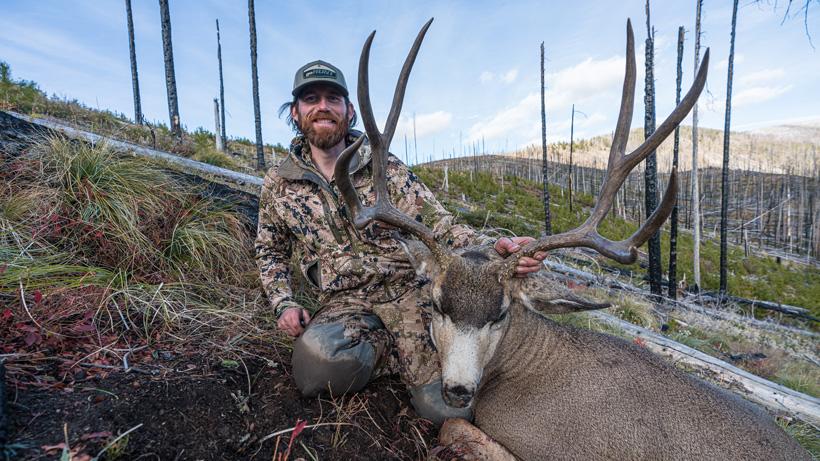 Brady Miller solo October backcountry mule deer gear list