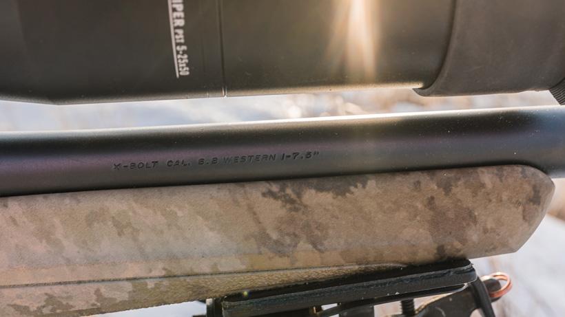 Browning 6.8 Western 7.5 twist barrel