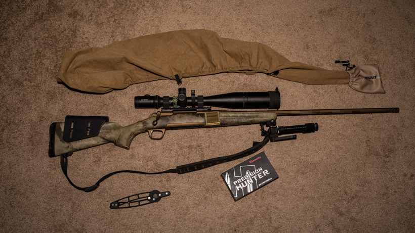 Browning X-Bolt hells canyon speed rifle setup