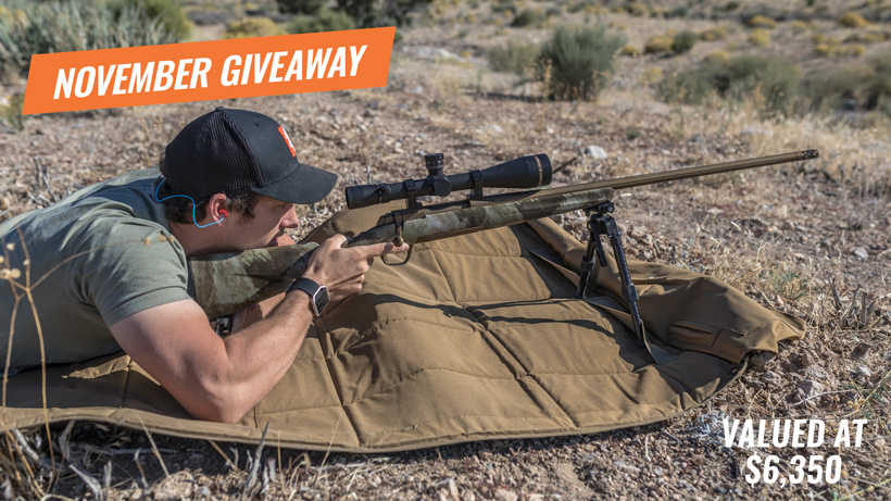 Browning X-bolt Hells Canyon Long Range rifle giveaway