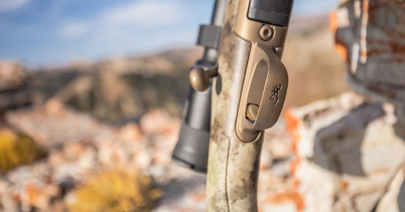Browning buckmark on hells canyon speed rifle