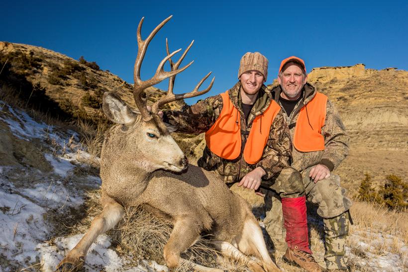 Bryce Miller 2013 Montana mule deer buck