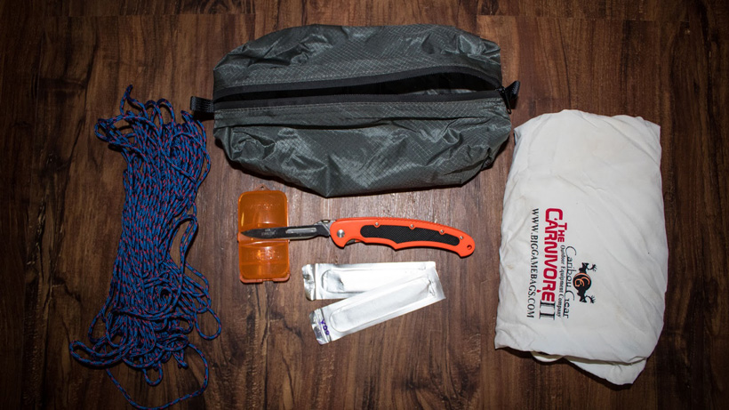 Building your hunting kill kit