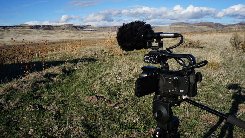 Canon XA20 video camera for filming hunts