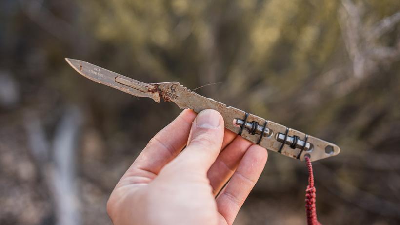 Capra hunter ti knife