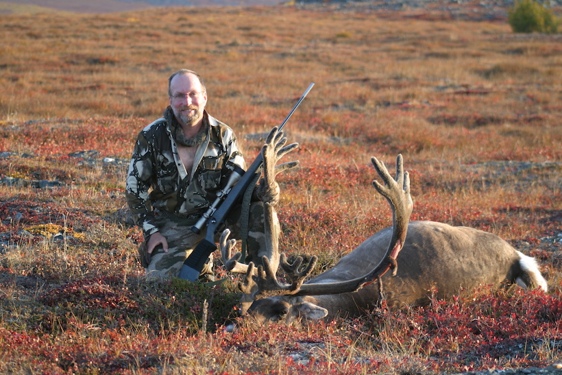 Living the dream hunting caribou