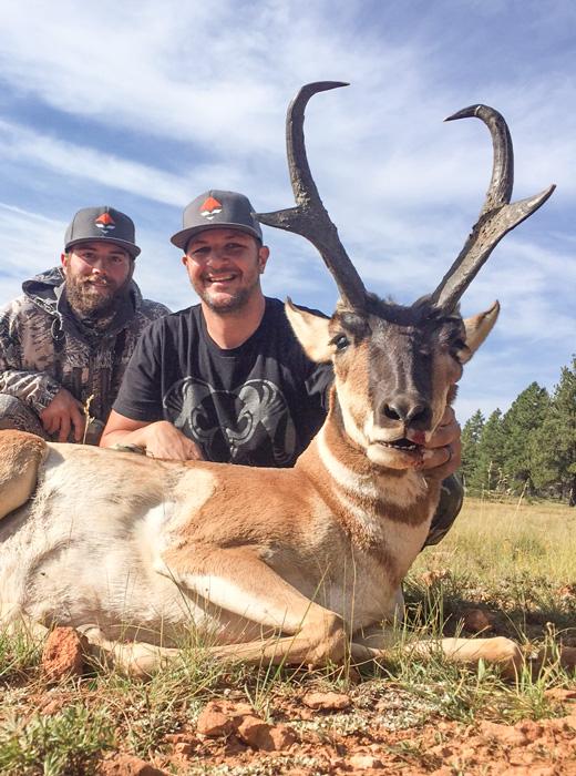 Casey Spanish with his 2015 Utah antelope buck