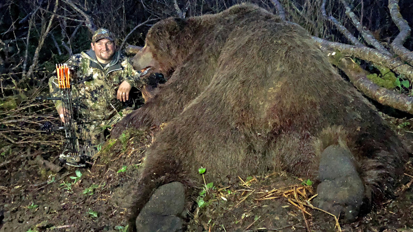 World Record Alaskan Brown Bear
