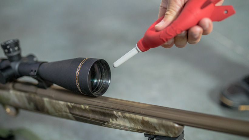 Cleaning Leupold riflescope glass
