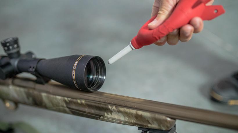 Cleaning Leupold riflescope glass