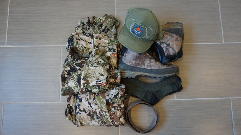 Clothing for a backcountry Wyoming elk hunt