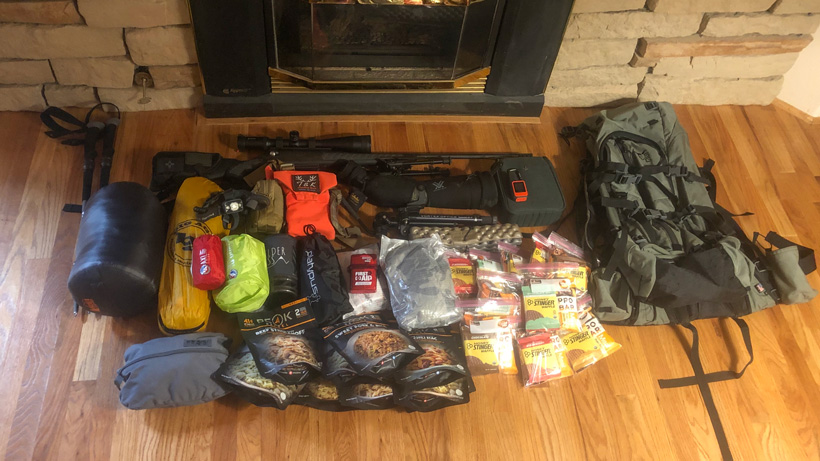 Colorado mule deer hunt gear
