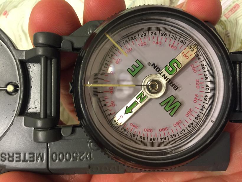 Compass bearing