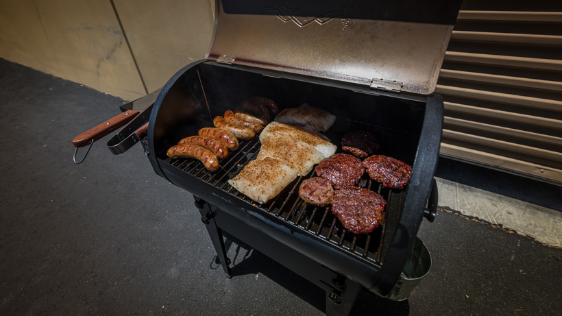 Cooking wild game meat on Traeger Grill