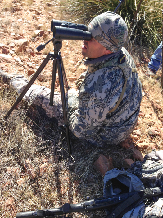 Dave-Loescher glassing for Coues deer