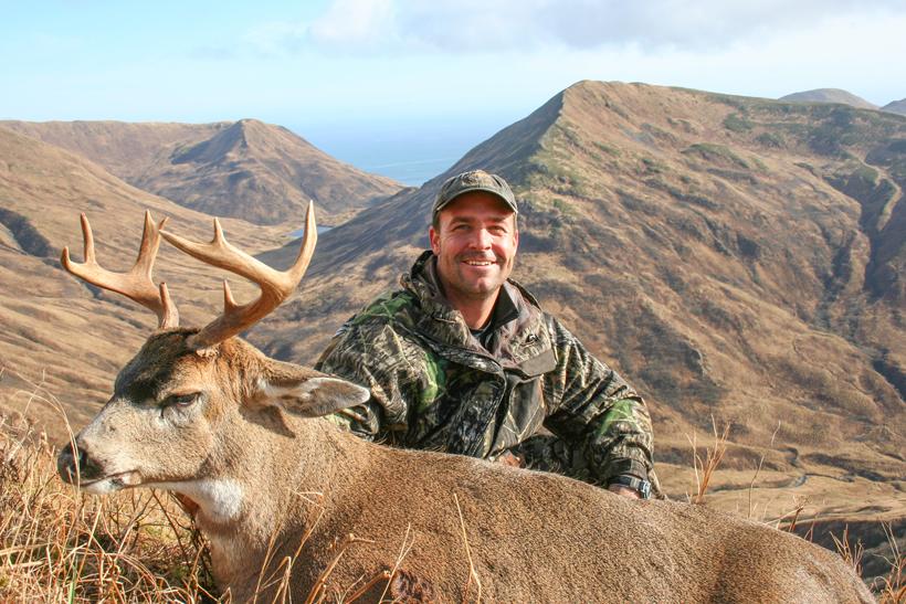 Dave Loescher with a blacktail deer