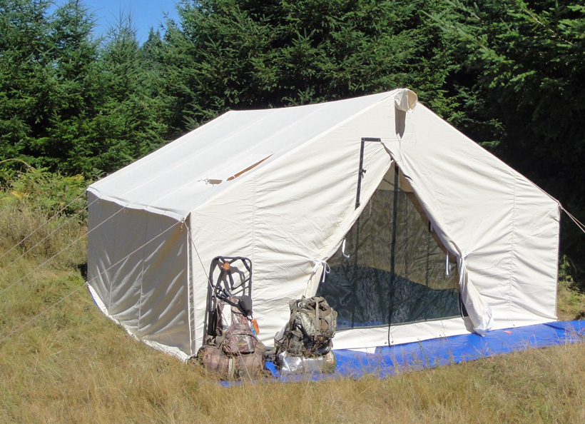 Davis Tent and Awning wall tent & May INSIDER giveaway: 3 Davis Wall Tents | goHUNT