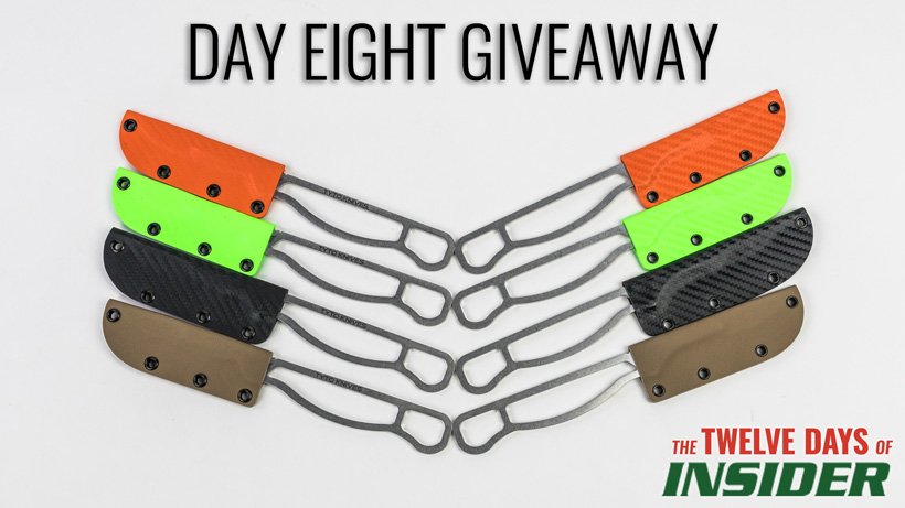 Day eight Tyto replaceable blade knife giveaway