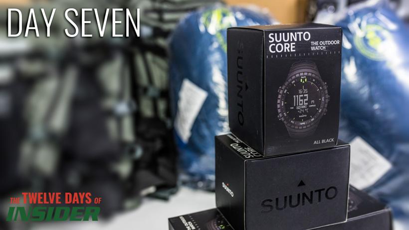 Day seven Suunto Core Black watch giveaway