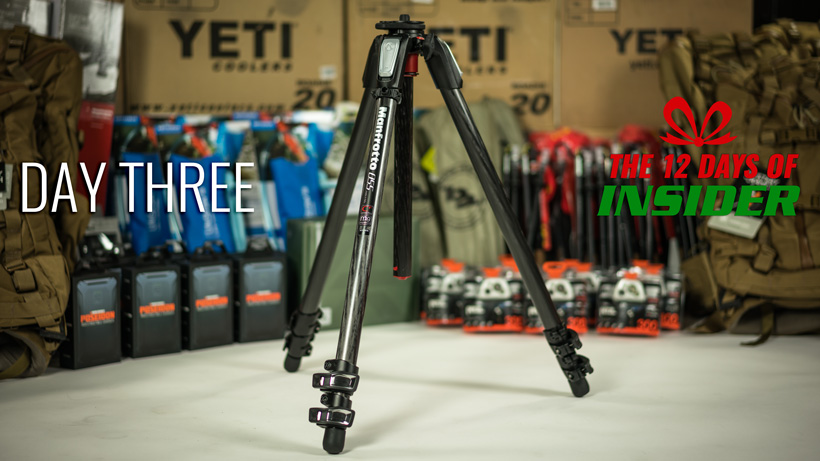 Day three Manfrotto tripod giveaway