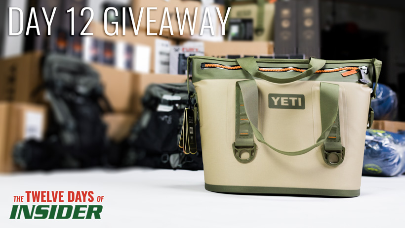 Day twelve YETI Hopper two 20 soft cooler giveaway
