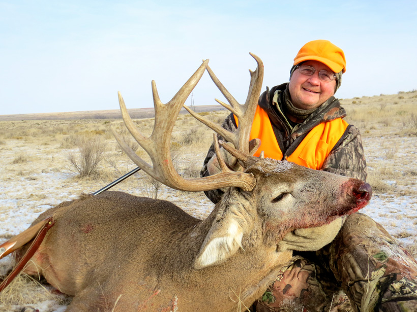 December whitetail hunting success