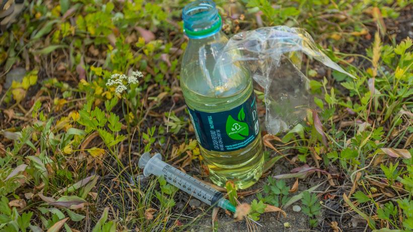 Deer antler velvet preserve and syringe