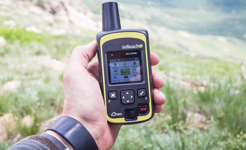 Delorme inReach for backcountry hunting safety