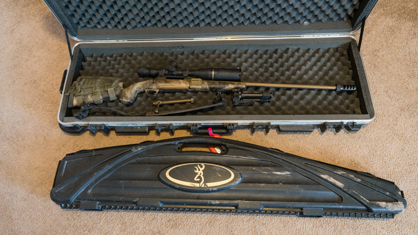 Different types of firearm cases