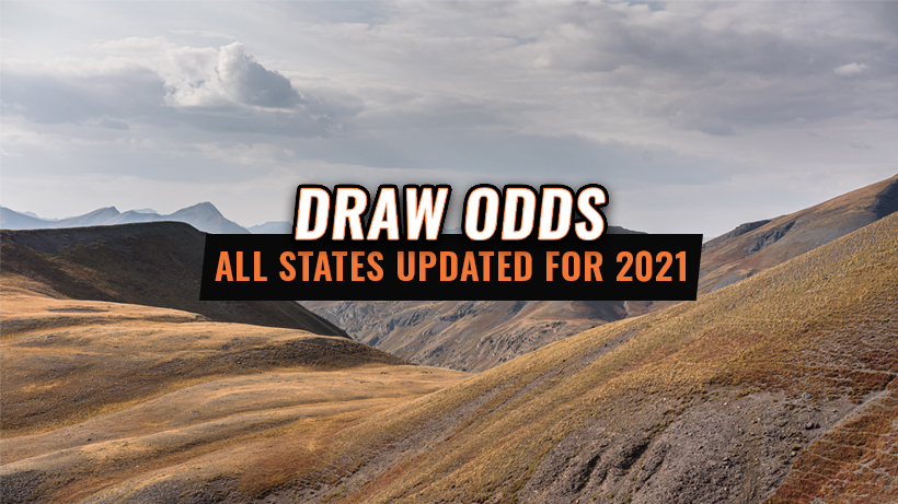 Draw Odds Now Updated For All States on INSIDER For 2021