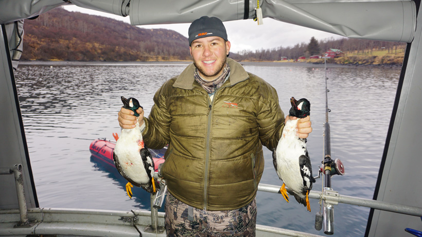 Duck hunting bonus while hunting in Alaska