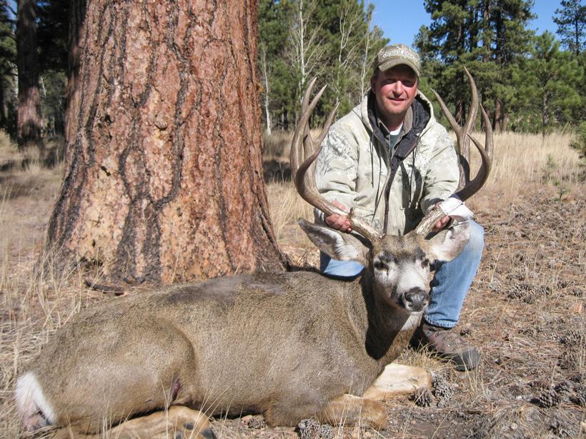 """East Kaibab early season 185"""" mule deer"""