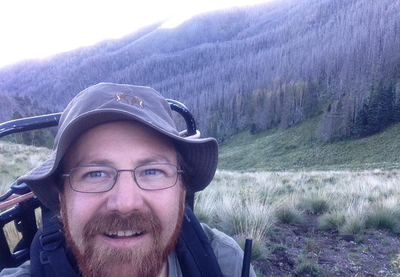 Elk packout selfie