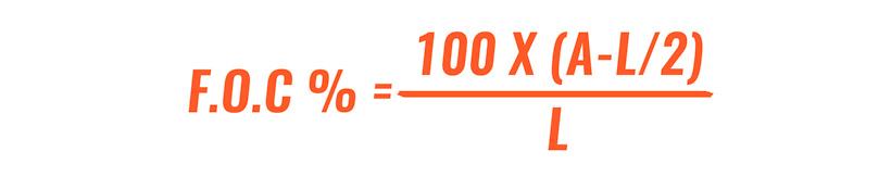 FOC calculation for arrows