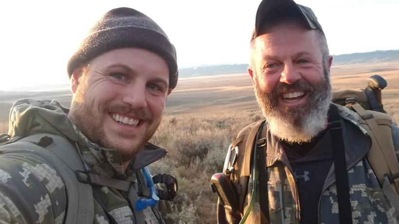 Selfie - Jake Horton and his dad