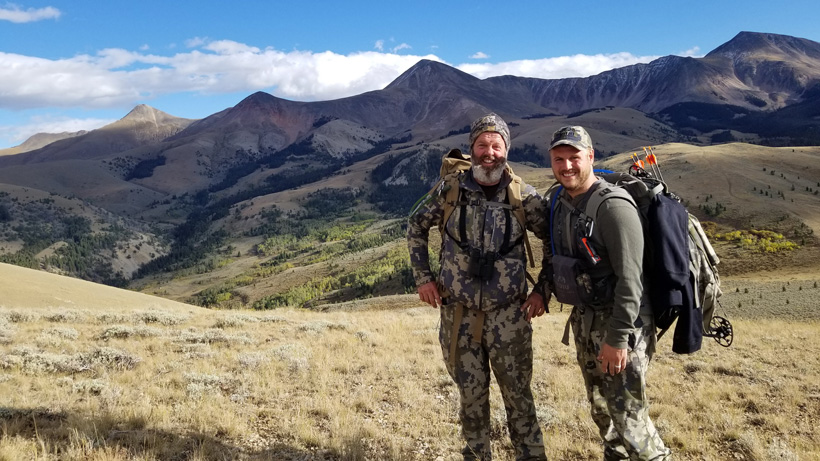 Father and son western hunt experience